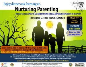 Nurturing Parenting ~ Special Emphasis on Parents in Recovery @ HUB Communities FRC