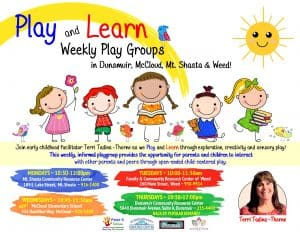 Play and Learn ~ Weekly Play Group ~ @ Dunsmuir CRC