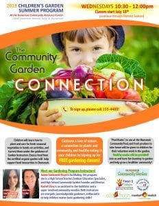 The Community Garden Connection @ Dunsmuir CRC