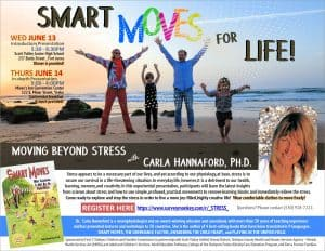 Smart Moves for Life - Moving Beyond Stress! @ Miner's Inn Convention Center, Yreka