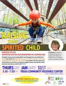 Raising Your Spirited Child @ Yreka Community Resource Center