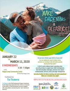 Make Parenting a Pleasure @ Happy Camp Community Center