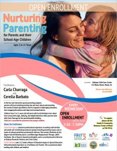 Nurturing Parenting - For parents and their school-age children (ages 5 - 11 years) @ Siskiyou Child Care Center