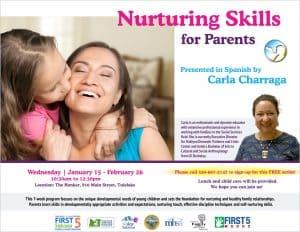 Nurturing Skills for Parents @ The Honker