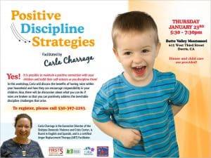 Positive Discipline Strategies @ Butte Valley Montessori